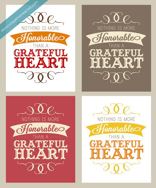 50 BEST Thanksgiving Printables 16