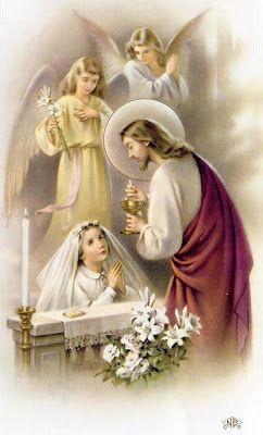 First Communiuon NovenaFirst Communion, Holy Cards, Communion, Catholic Faith, Communion Novena, Prayer Cards, First Holy Communion, Firstcommunion