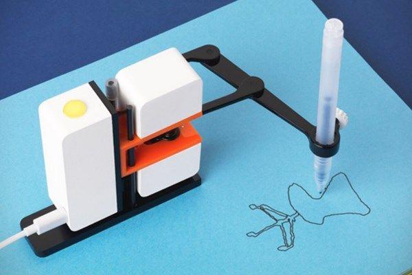 Projeto de braço robô desenhista é sucesso de financiamento coletivo
