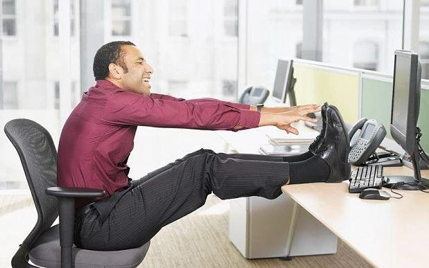 Office workers must exercise for an hour a day to counter death risk