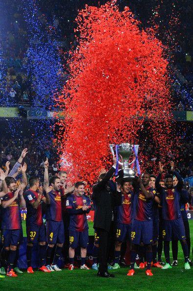 102.  2013 FC Barcelona La Liga Champions