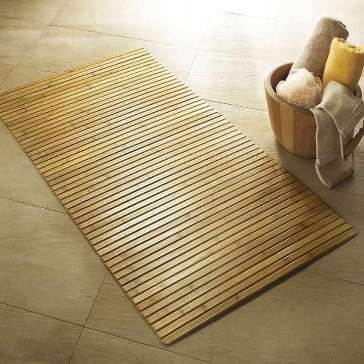 Ξύλινο Χαλάκι Μπάνιου, σχ. Bambus  Bamboo Διάσταση 50x80cm. Ύψος 5mm.