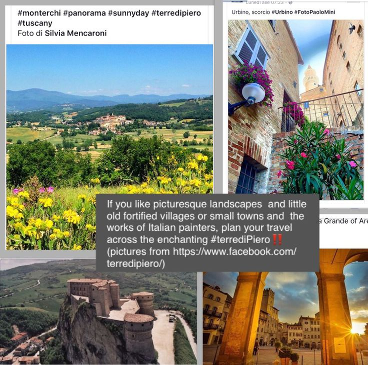 If you like picturesque landscapes and little old fortified villages or small towns and the works of Italian painters, plan your travel across the enchanting #terrediPiero‼️(pictures from https://www.facebook.com/terredipiero/) #landscapes #hills #villages #towns #art #artwork #travel #PierodellaFrancesca #instagramers #instatravel #Italy #Europe