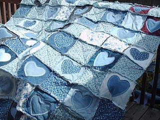 cutest blue jean quilt Ever!