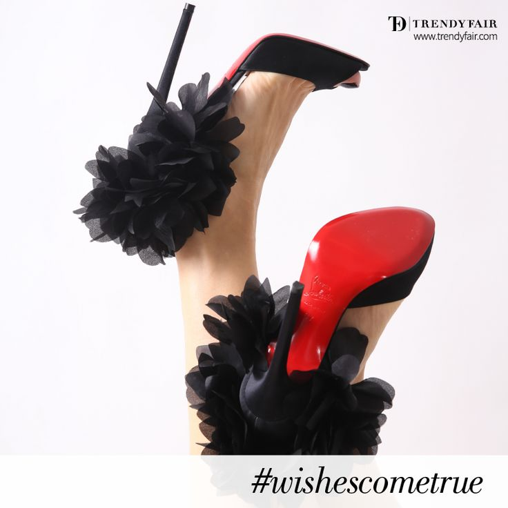 These are not shoes. This is naked poetry. Christian Louboutin Carnavale