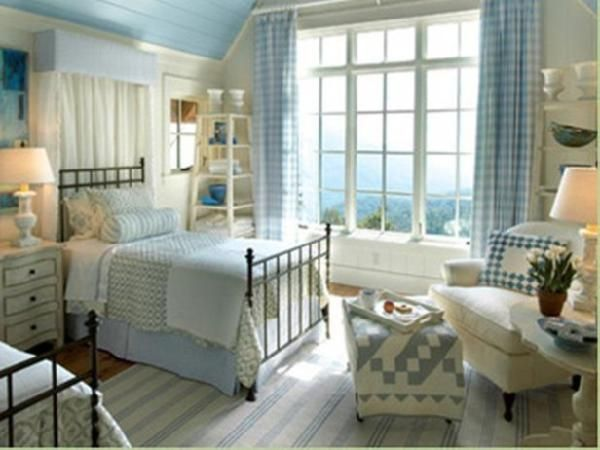 Adrianna: Miscellaneous - Cottage Bedrooms from Linda Woodrum : Designers' Portfolio 1506 : Home & Garden Television - Country, Cottage, Girls Bedroom, Bliie, Babu Blue,