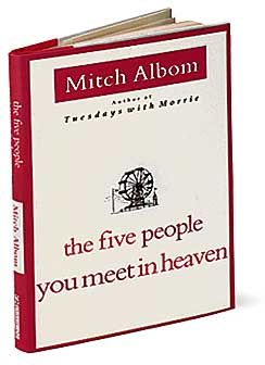 mitch albom the five people you meet in heaven summary of cask