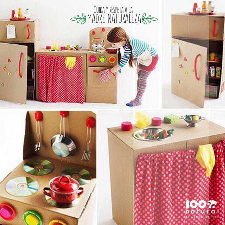 pon a prueba tu creatividad creando juguetes reciclados para tus hijos son originales y les