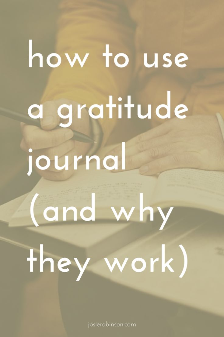 How to Use a Gratitude Journal (And Why They Work) | gratitude journal ideas | gratitude journal prompts |