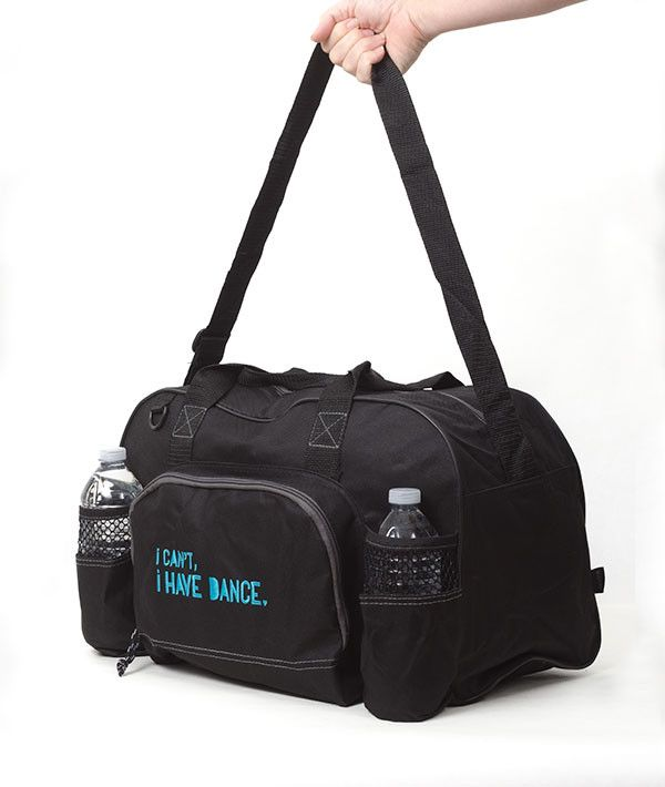Lightweight bag that is great for those who dance a couple of days a week. - 600-denier polyester - Adjustable and non-removable shoulder strap - Top grab handles - Back panel of each bag is black - R