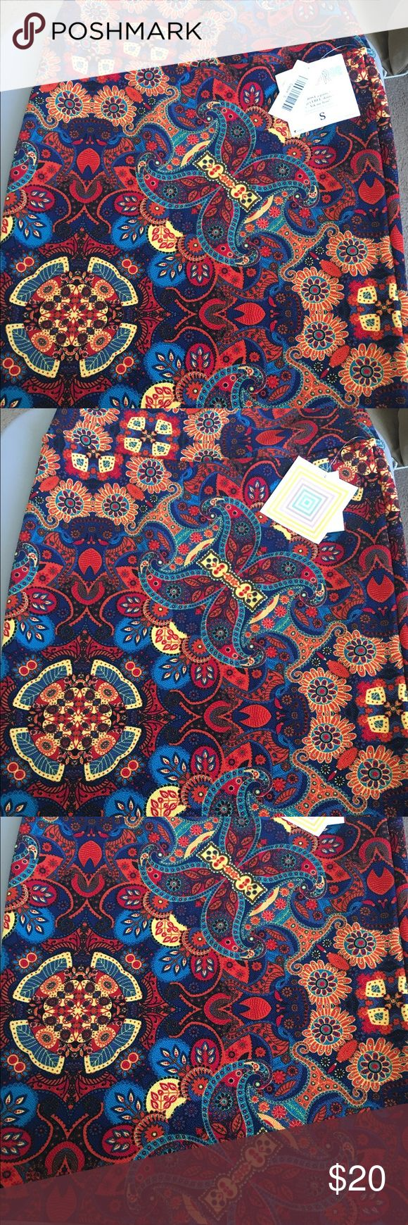 Brand New Beautiful Cassie Skirt! This is a gorgeous print! Size Small Cassie Skirt! Perfect to pair with a tank top, short sleeve, jean jacket, or cardigan! LuLaRoe Skirts Pencil