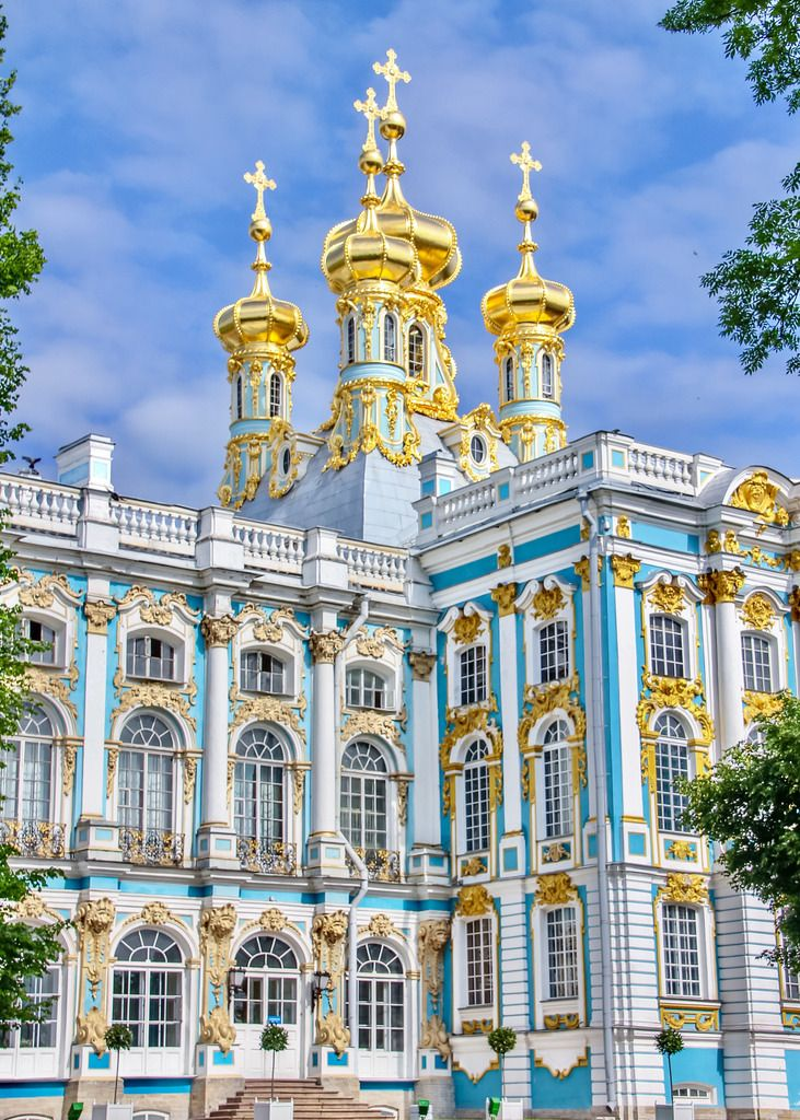 Catherine S Palace St Petersburg Russia Petersburg St