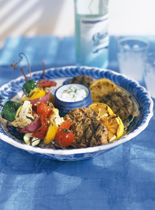 Spiced Lamb Keftedes with Grilled Lemons (Spiced Lamb Patties) | Ricardo