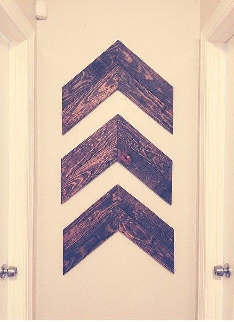 Rustic Wooden Arrows, Rustic Decor, Aztec Decor, Tribal Wall Hanging
