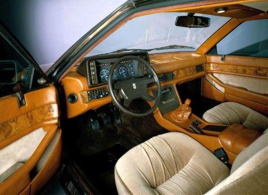 1982 Maserati Biturbo Interior