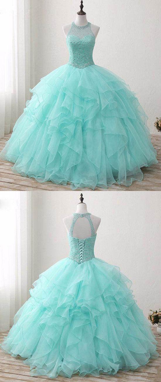 O-Neck Beading A-Line Prom Dresses,Long Prom Dresses,Cheap Prom Dresses, Evening Dress Prom Gowns, Formal Women Dress,Prom Dress