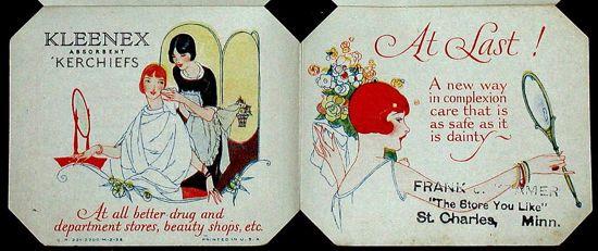 クリネックス、冊子1926カバー