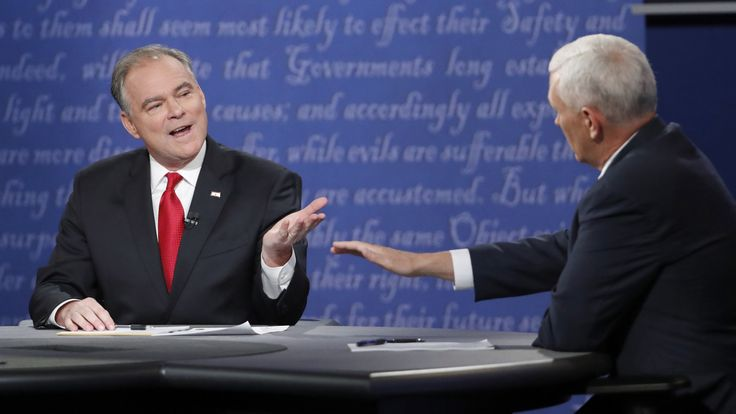 Election 2016: In retrospect, Tim Kaine's debate was a masterful lesson in campaign strategy — Quartz