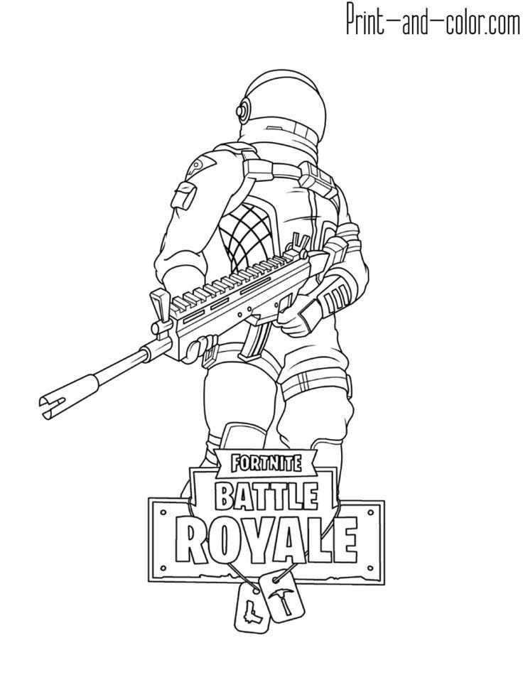 Fortnite Battle Royale Coloring Page Dark Voyager