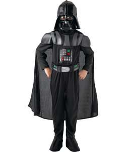 Star Wars Darth Vader Dress Up Outfit - 5 - 6 Years.