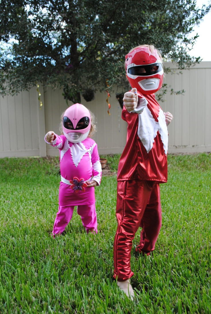 power ranger costumes for the kids i didn t make the