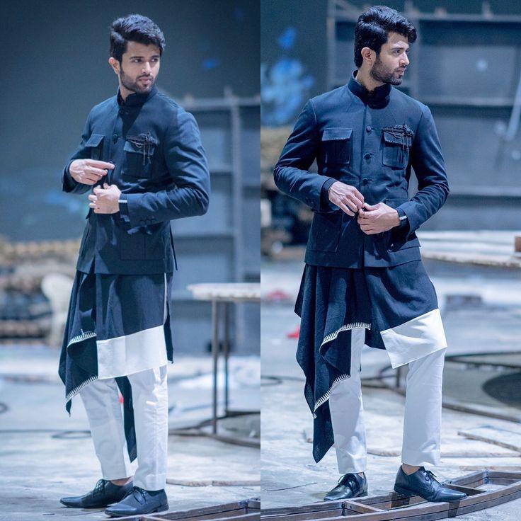 Arjun Reddy fame vijay devarakonda in shravya varma's design.
