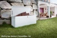 Biohort Úložný box FreizeitBox 160HIGH, bílá