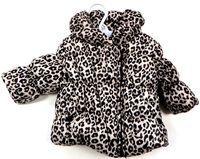 Outlet - Béžovo-černá vzorovaná šusťáková zimní bunda zn. F&F