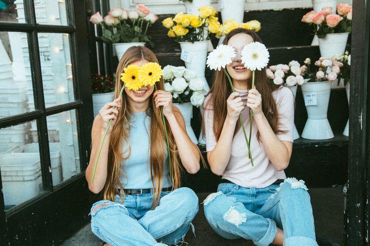 Flower shop cute bff picture summer break
