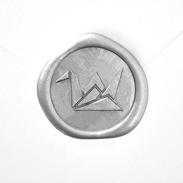 Wax Seal - Origami Crane