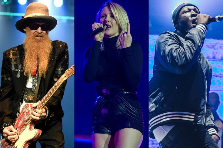 Glastonbury 2016 line-up: Ellie Goulding, ZZ Top and Stormzy will be joining headliners Muse, Adele and Coldplay at this year's Glastonbury festival.