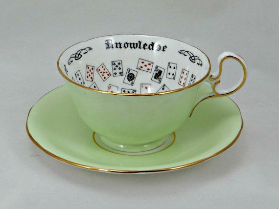 Cup of knowledge tea cup