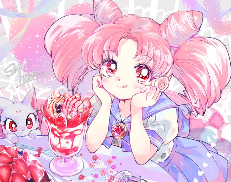 Chibiusa and Diana