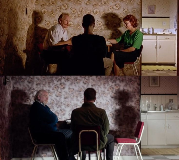Telling/beautiful shot comparison from Trainspotting/T2.