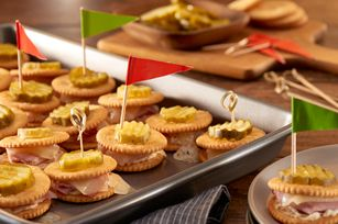RITZ Ham & Cheese Bake Recipe