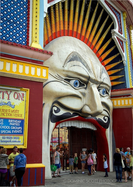 Luna Park Melbourne | Flickr - Photo Sharing! Dominic Scott Photography