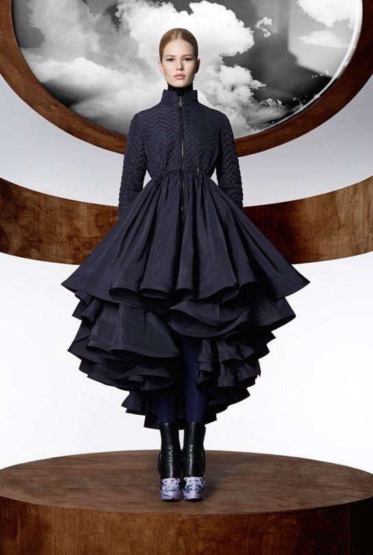 Moncler M by Mary Katrantzou, coats, down Jackets, collaboration, Topshop, Repetto, Longchamp