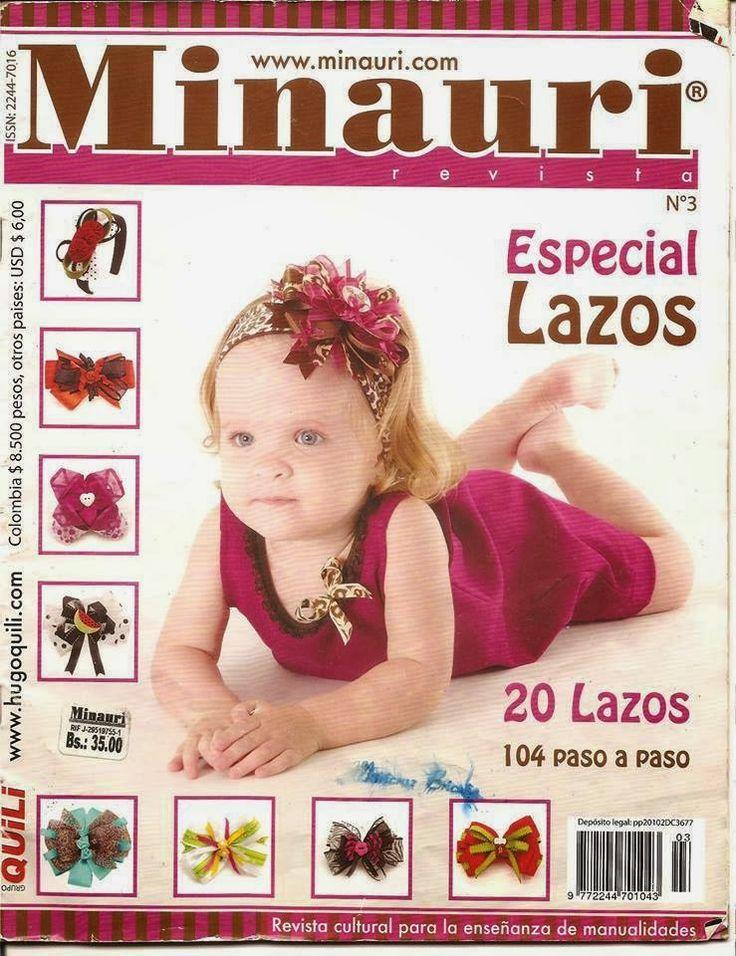 Revista gratis de lazos y cintillos  para el cabello