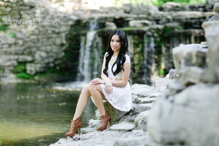 Prairie Creek Park in Richardson, TX. Gorgeous waterfalls area but normally packed with other photographers.  www.chantalbrownphotography.com