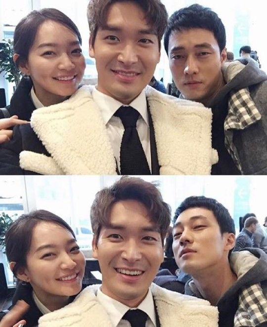 """Jung Gyu Woon Shares Cute Picture With """"Oh My Venus"""" Co-Stars Shin Min Ah and So Ji Sub"""