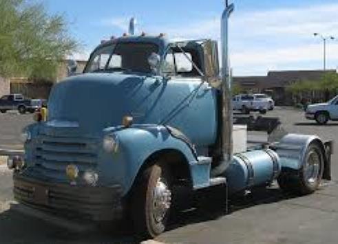 1950 CHEVY TRACTOR CAB UNIT PROTO 1