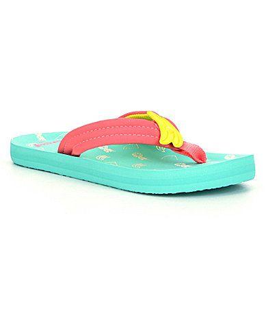Reef Girls Little Ahi FruitScented FlipFlops #Dillards