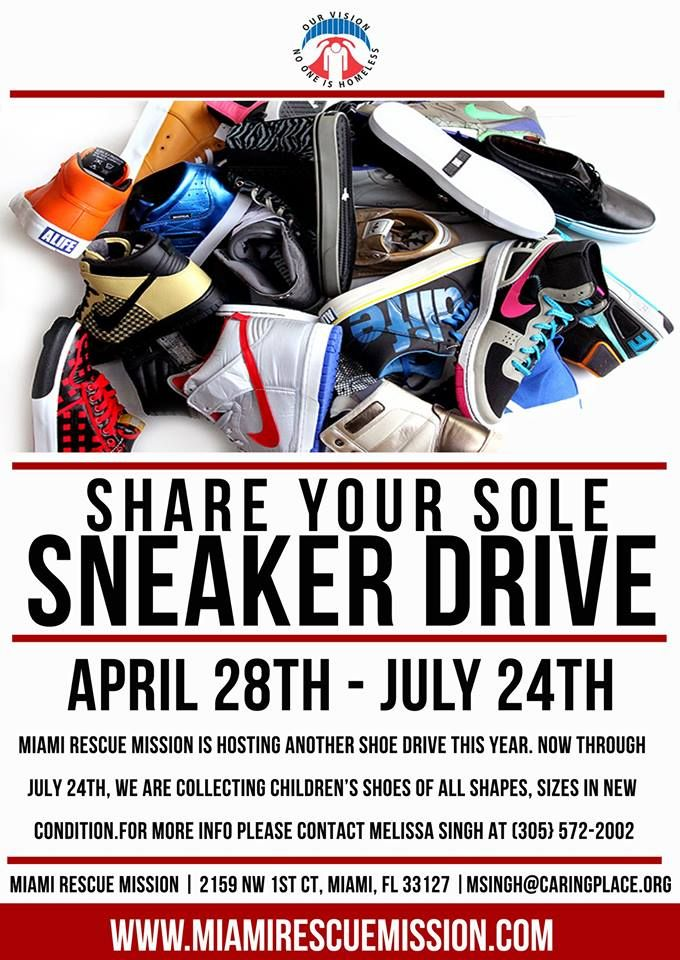 shoe drive flyer - Towerssconstruction