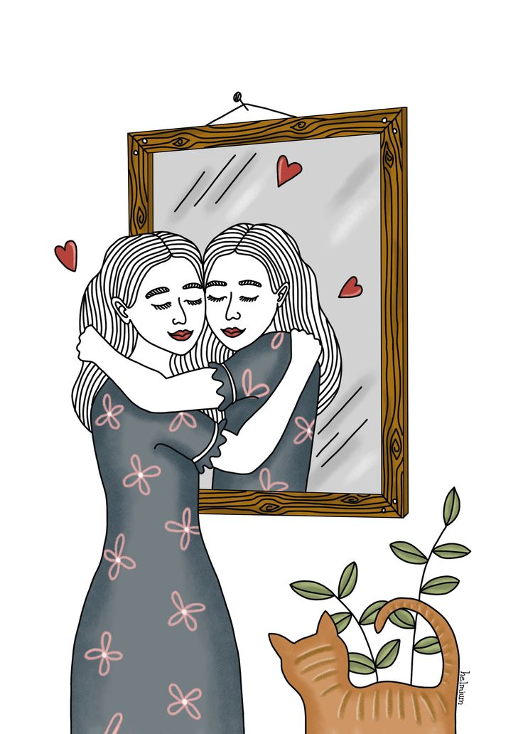 Love Wall Art, Love Art, Art And Illustration, Positive Art, Body Positive, Love Posters, Feminist Art, Love Images, Grafik Design