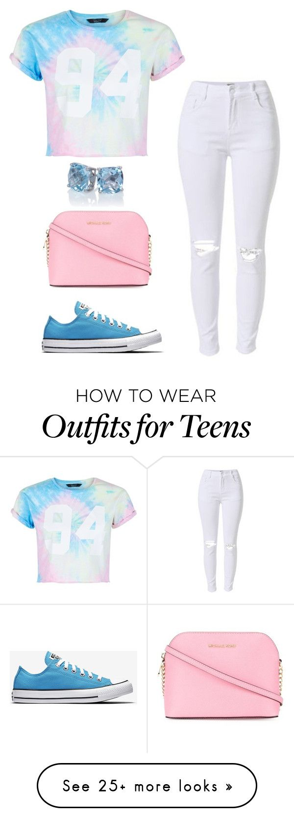 """""""Untitled #297"""" by amariyahwebb on Polyvore featuring New Look and MICHAEL Michael Kors"""