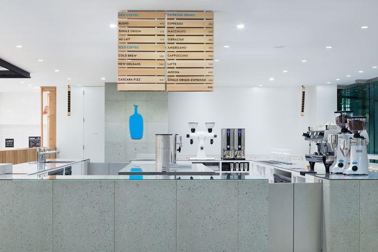 Blue Bottle Coffee Shinagawa Cafe / Schemata Architects