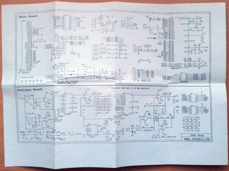 Schematic / schéma zapojení