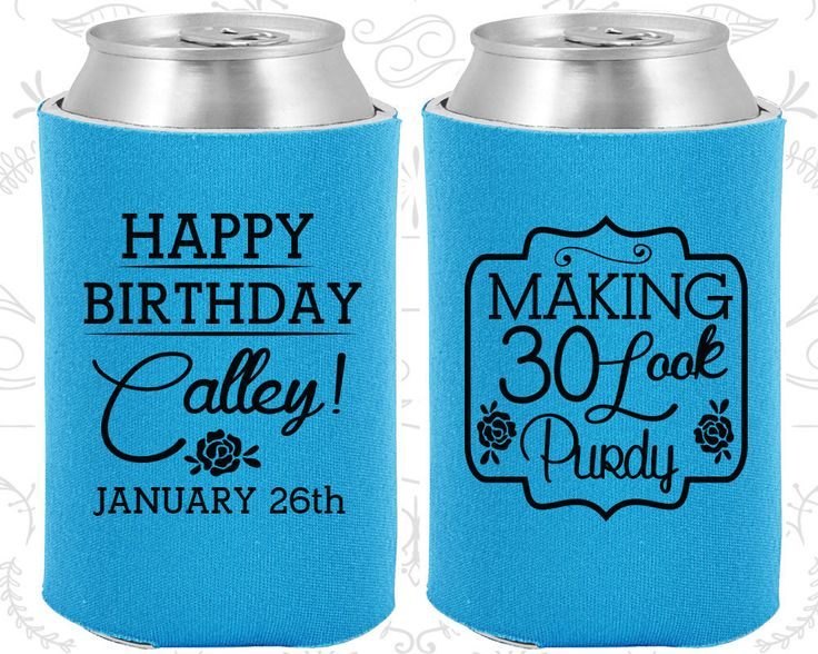 30th Birthday, 30th Birthday Favors, Cheap Birthday Ideas, Making 30 look Purdy, Happy Birthday Favors, Party Favors (20022)
