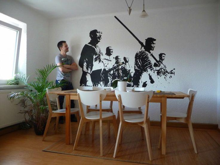Faça Você Mesmo – Pintura na parede usando um projetor | SOS Solteiros