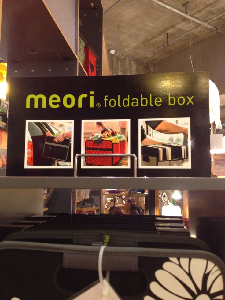 meori foldable box